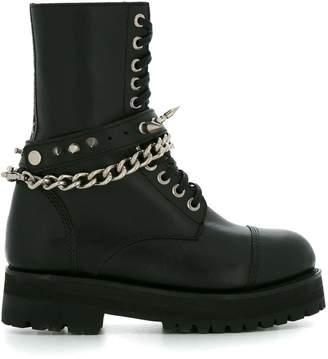 À La Garçonne military boots