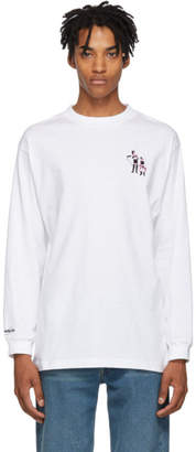 Carne Bollente White Attaches Moi Si Tu Peux Long Sleeve T-Shirt