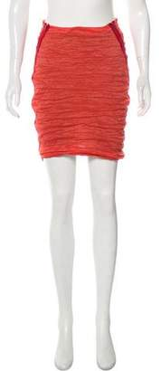 Yigal Azrouel Ruched Pencil Skirt