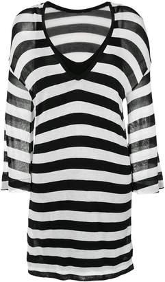 OSKLEN Stripe straight dress
