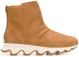 Sorel ridged platform boots