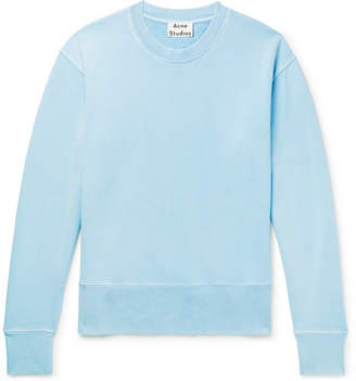 Acne Studios Garment-Dyed Loopback Cotton-Jersey Sweatshirt