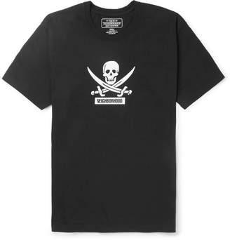 Neighborhood Filth And Fury Printed Cotton-Jersey T-Shirt