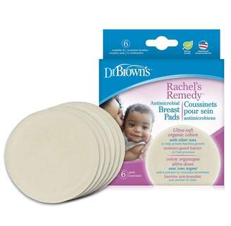 Dr. Brown's Rachel's Remedy Breast Relief Antimicrobial Washable Pads 6-Pack