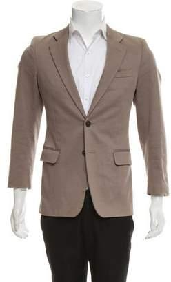 Miu Miu Two Button Twill Blazer