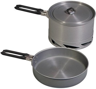 Camp Chef Stryker 4-Piece Cook Set, Silver, Silver