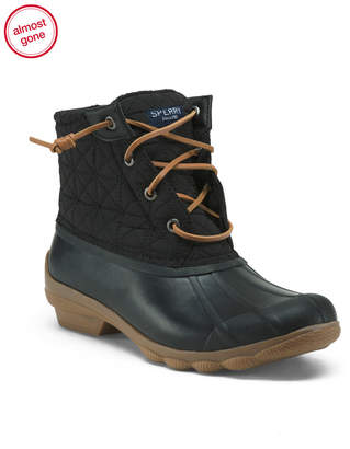 Sperry Memory Foam Quilted Duck Boots
