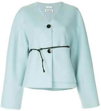 Jil Sander cashmere button cardigan