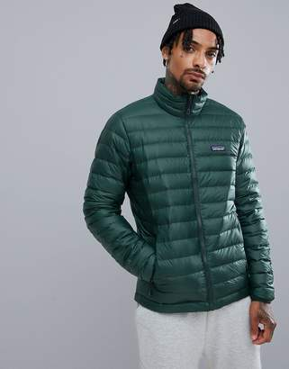Patagonia Down Sweater Jacket in Green
