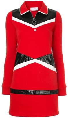 Courreges vinyl sweat dress