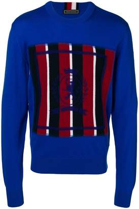Tommy Hilfiger colour-block long sleeve sweater