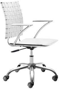 ZUO Adjustable Woven Office Chair