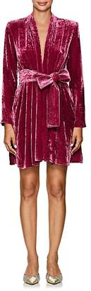 A.L.C. Women's Kiera Velvet Belted Dress