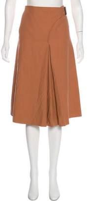 Cédric Charlier A-Line Knee-Length Skirt w/ Tags