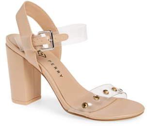 Katy Perry Nina Embellished Clear Sandal