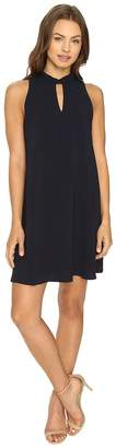 Brigitte Bailey Chase Sleeveless Keyhole Dress Women's Dress