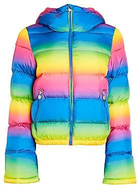 Perfect Moment Women's Performance Ski Polar Flare Puffer Jacket