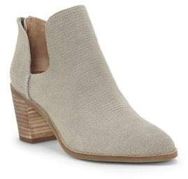 Lucky Brand Powe Kid Suede Booties