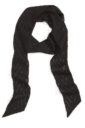 Women's Vanessa Mooney The Marte Skinny Scarf $45 thestylecure.com