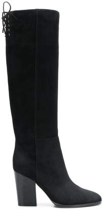 Sergio Rossi smooth knee-length boots