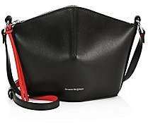 Alexander McQueen Women's Mini Leather Bucket Bag