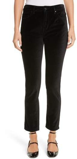 Women's Kate Spade New York Stretch Velveteen Ankle Pants