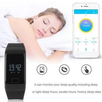 YELLOW F1 MultiFunctional Fitness Tracker Sweat-proof Smart Watch Sport Pedometer Waterproof Wrist Watch Smartwatch