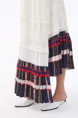 3.1 Phillip Lim Pleated Asymetrical Dress