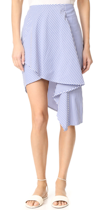 J.O.A. Woven Skirt $70 thestylecure.com