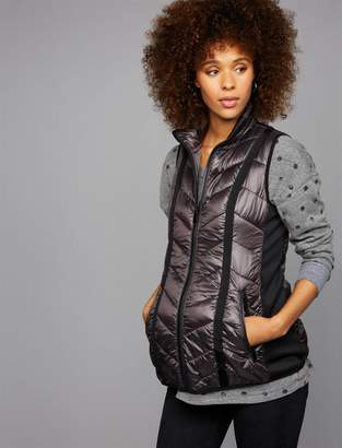 A Pea in the Pod Luxe Essentials Zip Front Maternity Vest