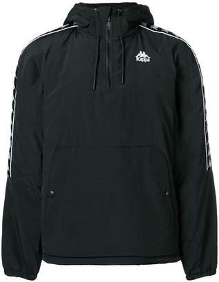 Kappa logo embroidered pullover jacket
