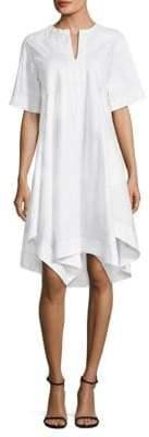 Donna Karan Asymmetrical Hem Dress