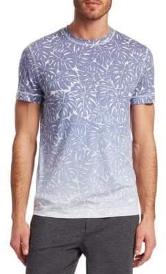 Saks Fifth Avenue MODERN Ombré Leaf Print T-Shirt