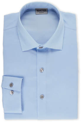 Kenneth Cole Reaction Light Blue Slim Fit Dress Shirt