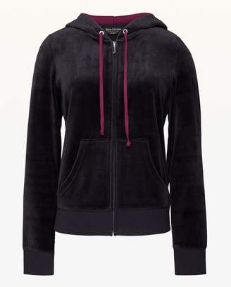 Juicy Couture Gothic Juicy Velour Robertson Jacket