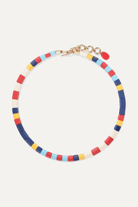 Roxanne Assoulin - Regatta Enamel Necklace - Blue