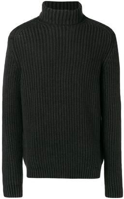Iris von Arnim fisherman knit turtleneck sweater