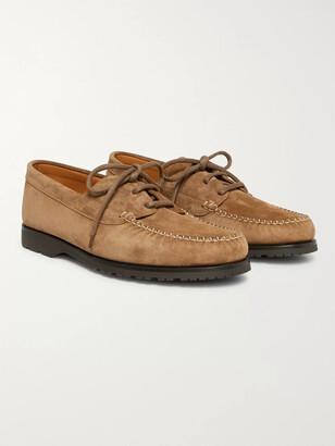 Mr P. Dennis Suede Boat Shoes