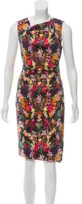 Nicole Miller Digital Printed Midi Dress