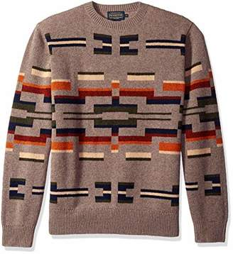Pendleton Men's Long Sleeve Outdoor Crew Neck Sweater