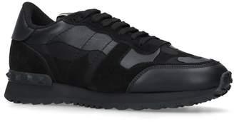 Valentino Rockstud Camo Sneakers