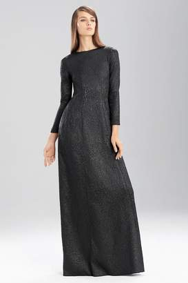 Natori Embossed Texture Dress
