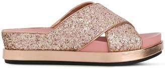 Ash glitter Secet sandals