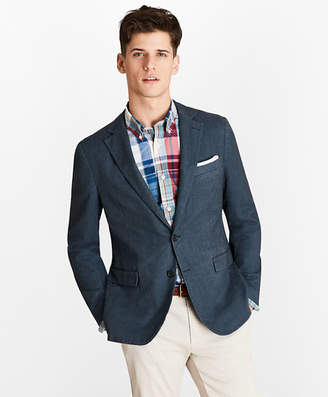 Brooks Brothers Herringbone Two-Button Sport Coat