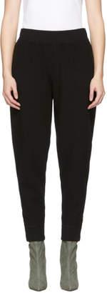 Alexander Wang Black Wool Lounge Pants