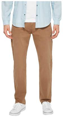 7 For All Mankind The Straight Tapered Straight Leg w/ Clean Pocket in Rich Khaki Men's Jeans