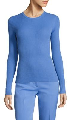 Michael Kors Collection Cashmere Crewneck Pullover