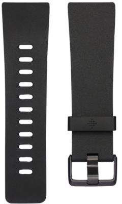 Fitbit VersaTM Classic Black Elastomer Accessory Band