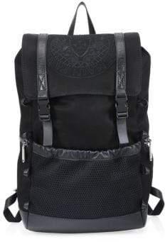 Balmain Leather Climb Backpack