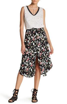 H.I.P. Floral Midi Skirt $52 thestylecure.com
